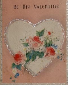 Love scrapbook Valentine, 1939