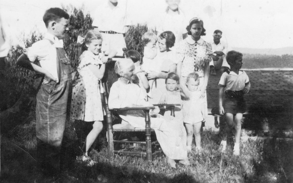 Jordan cousins with Isabelle, about 1937