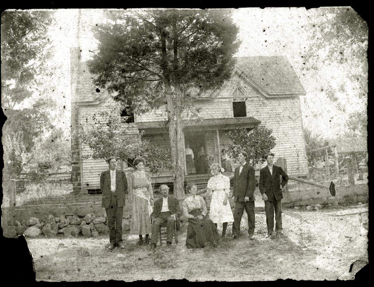 The exact location of this house is unknown, but it was somewhere in the Villanow area.