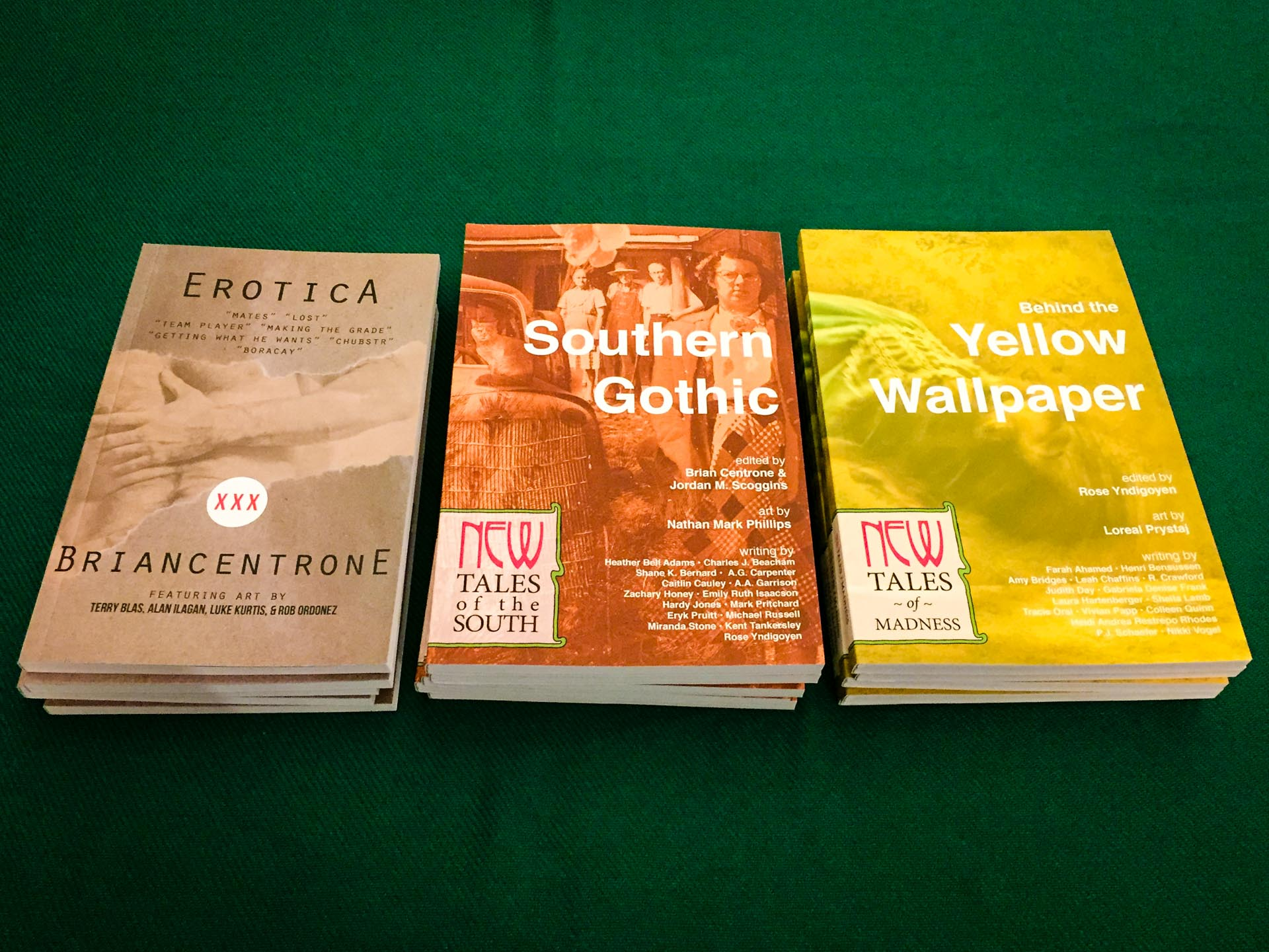 Erotica, Southern Gothic, and Behind the Yellow Wallpaper