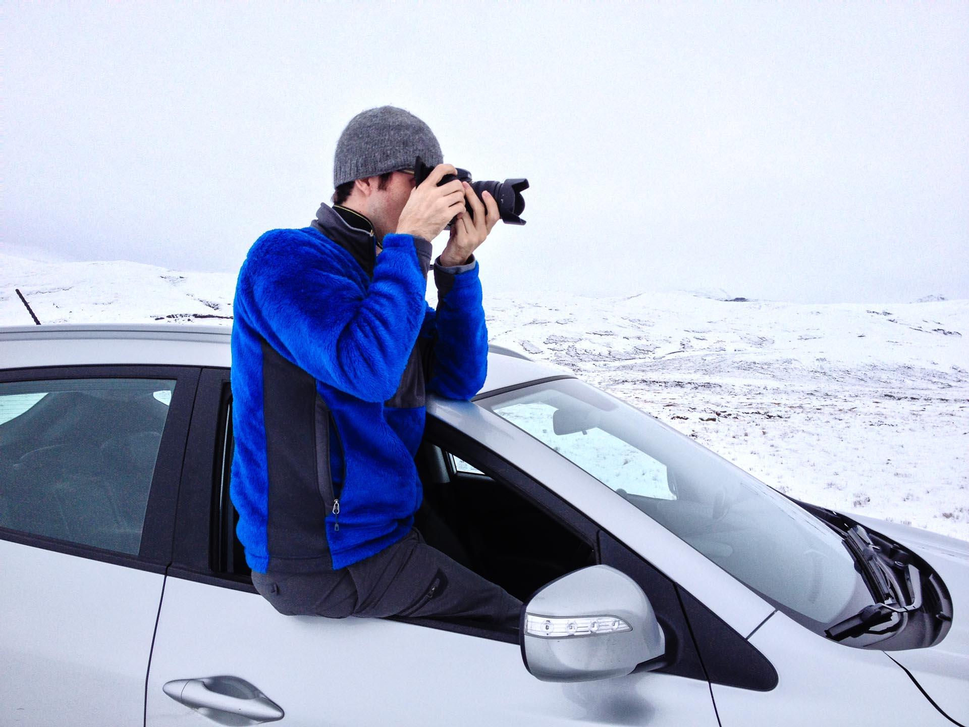 luke kurtis in Iceland