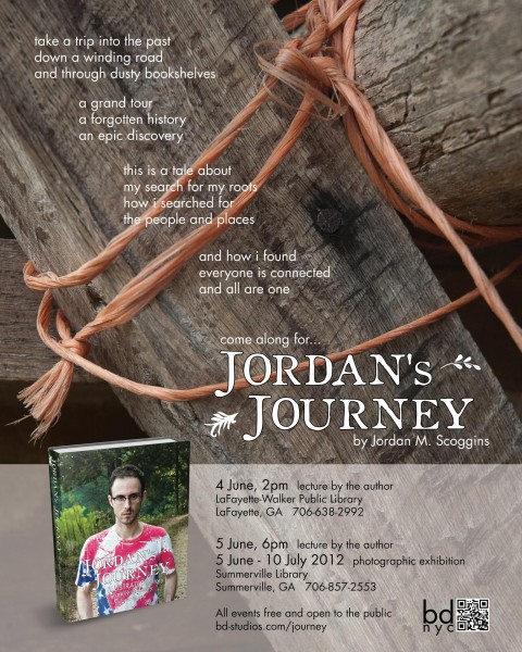 Jordan's Journey exhibition poster