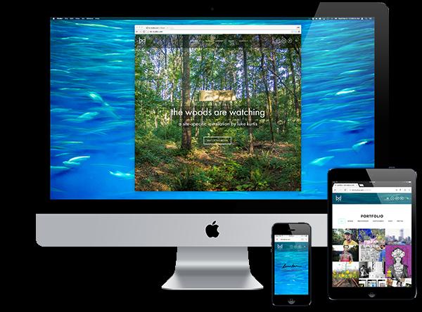 bd website redesign
