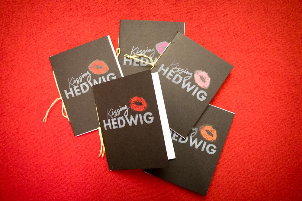 Kissing Hedwig zine