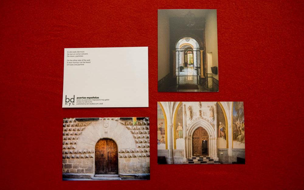 bd Publication, luke kurtis, photography, poetry, postcard, puertas españolas
