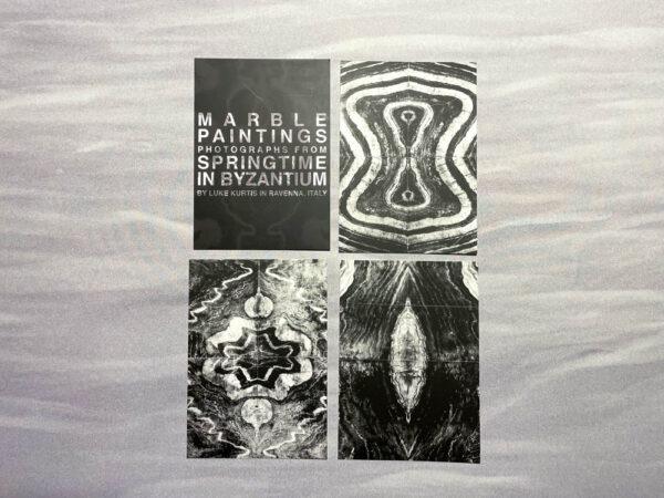 marble paintings postcards