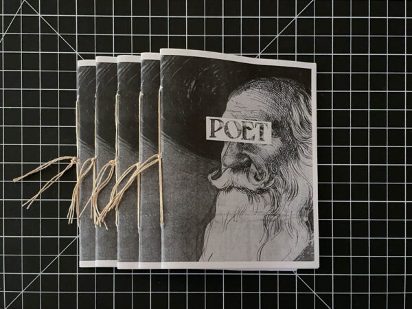 Severeal finished and bound copies of poet zine